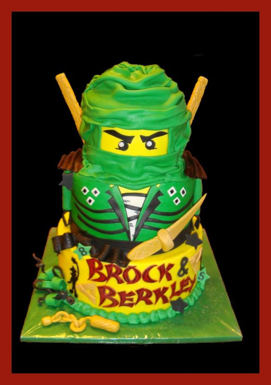 Lloyd The Green Ninjago on Cake Central