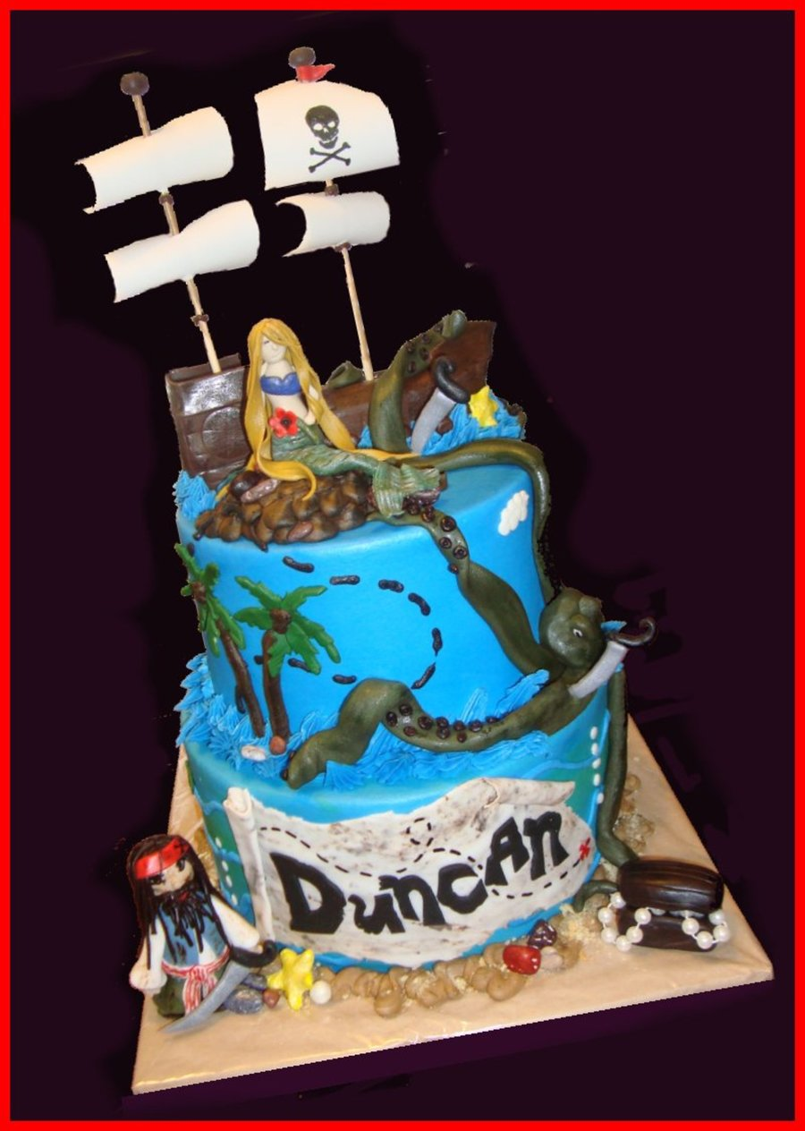 Pirates Of The Caribbean  on Cake Central