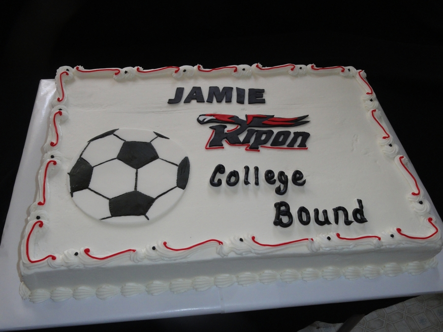 College Bound Soccer on Cake Central