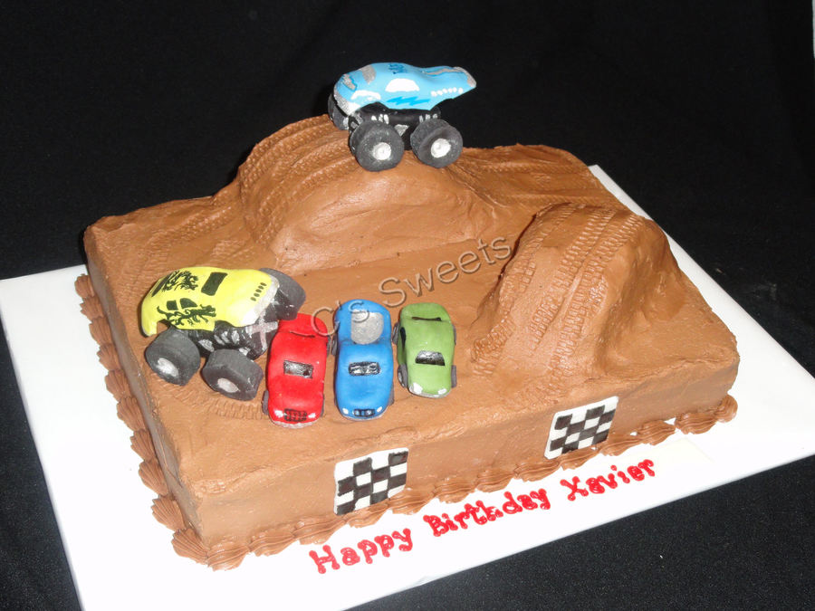 Monster Jam on Cake Central