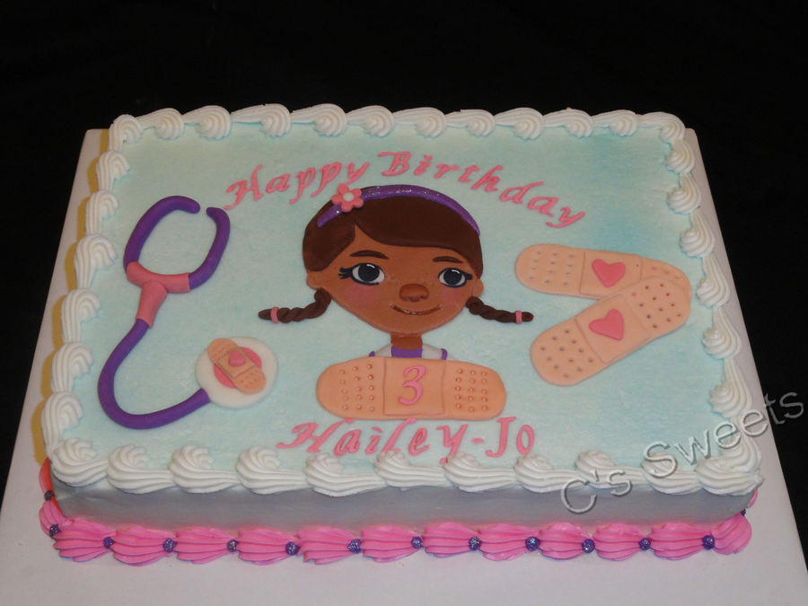Doc Mcstuffins on Cake Central