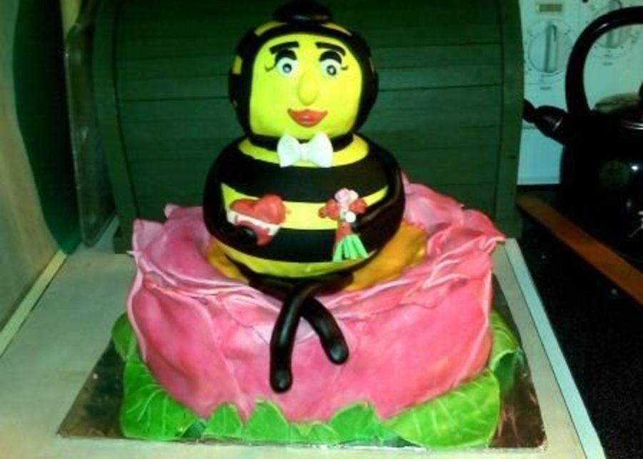 Bee Mine on Cake Central
