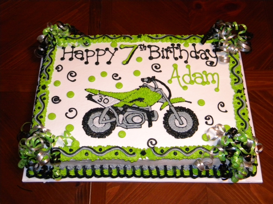 Dirt Bike Cake - CakeCentral.com
