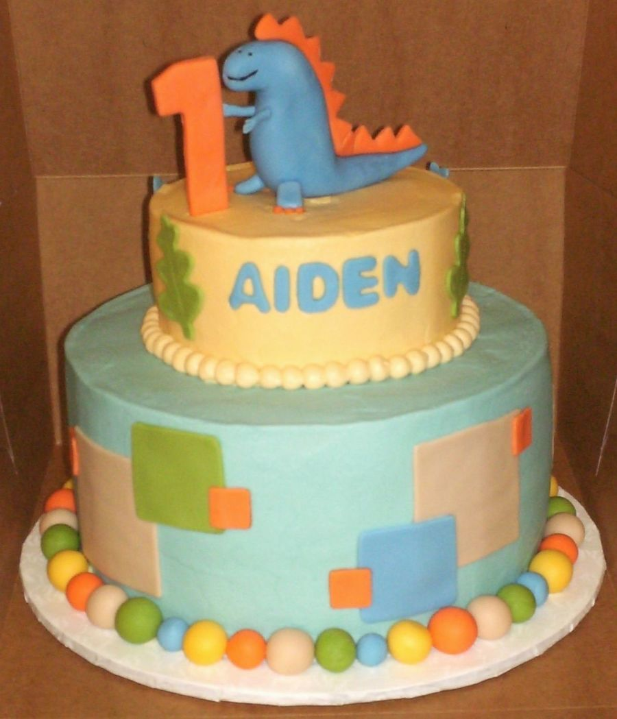 Dinosaur First Birthday