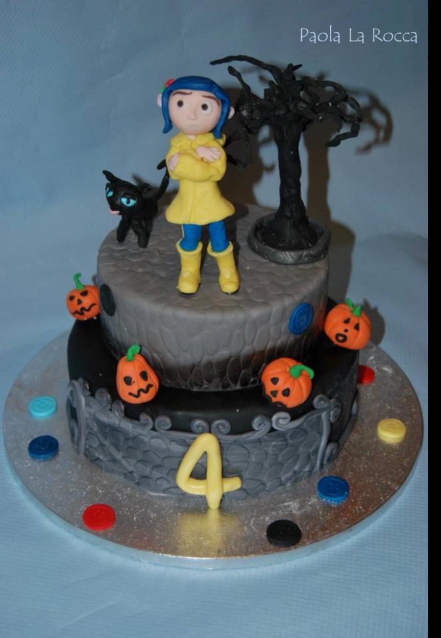 Super 2013 Torta Coraline E La Porta Magica Cakecentral Com Funny Birthday Cards Online Inifodamsfinfo