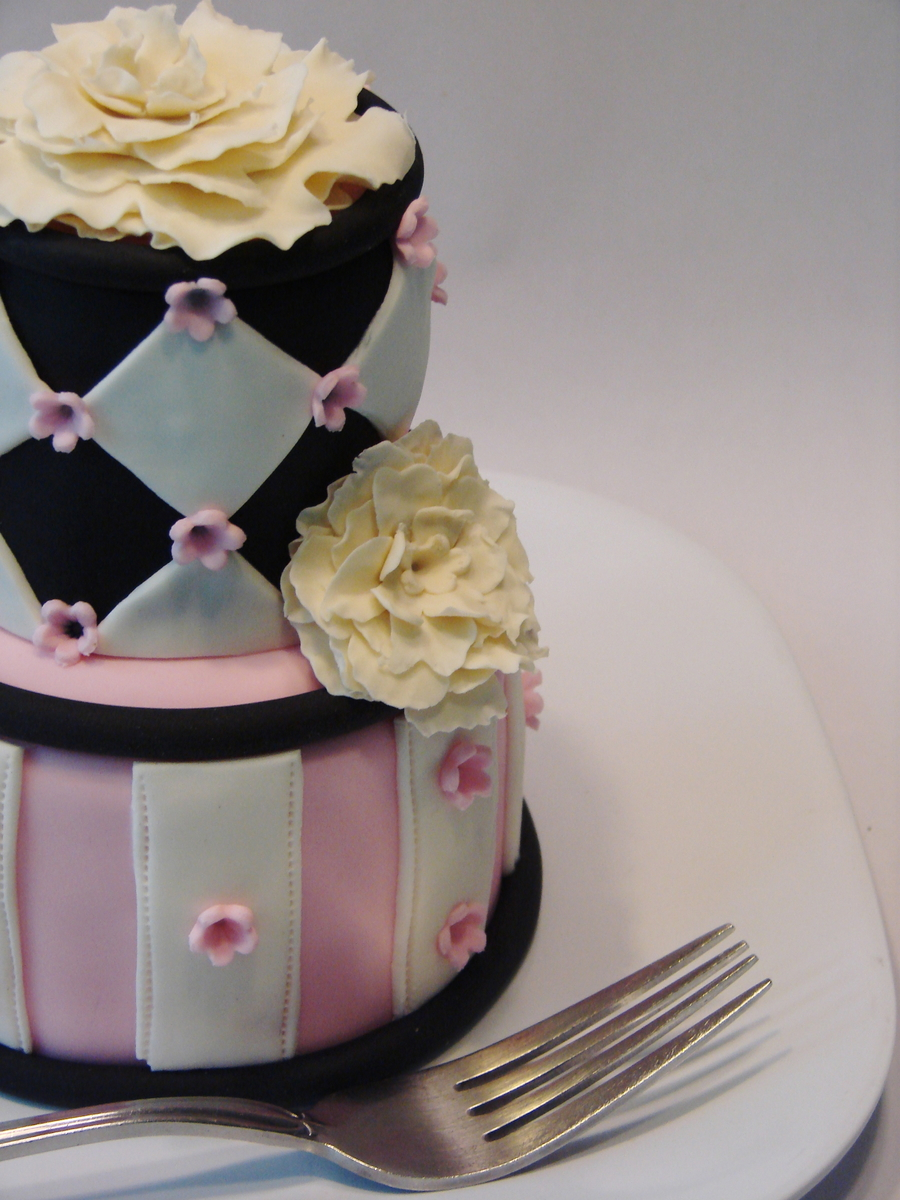2 Tier Mini Cake on Cake Central