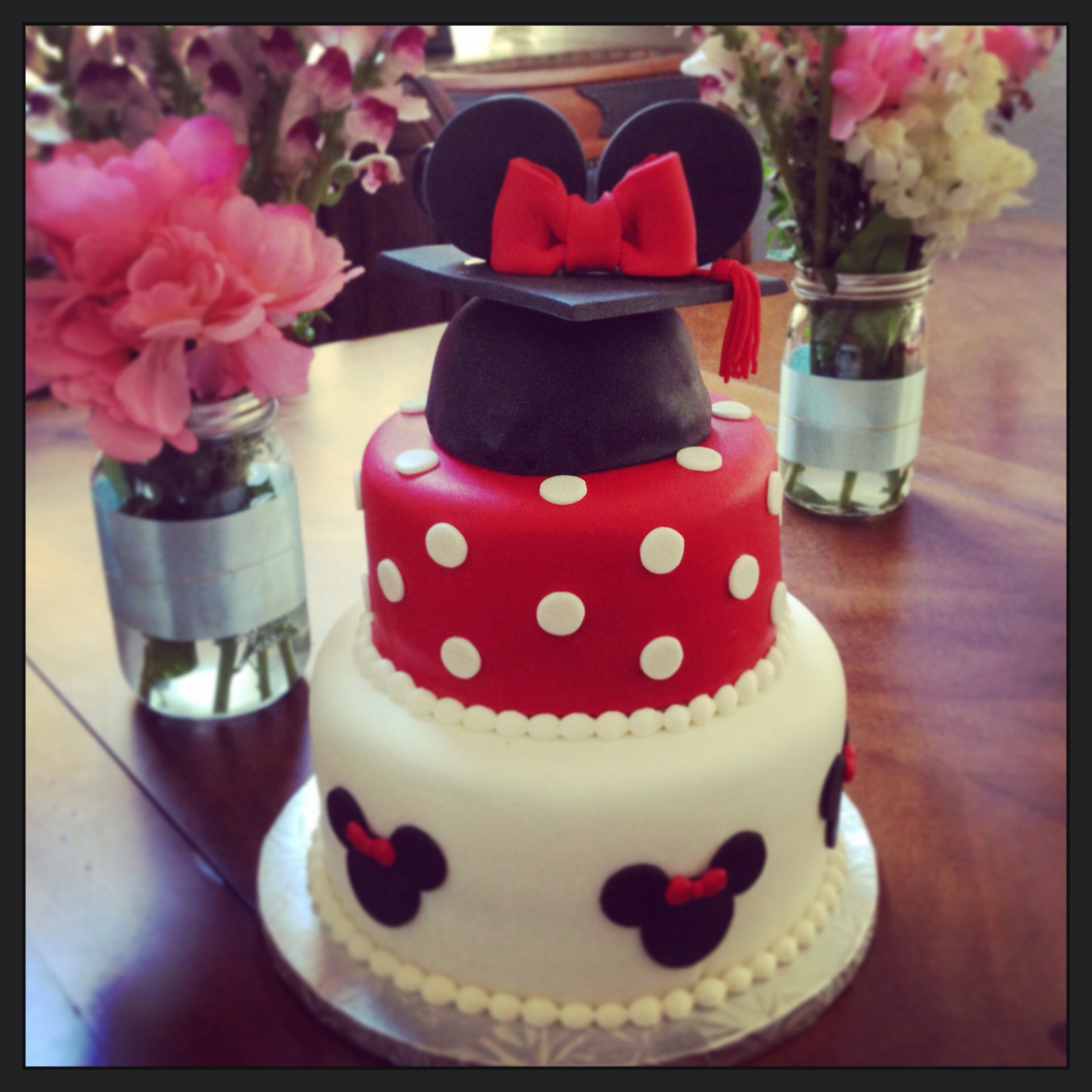 Black And White W Purple Wedding Cake CakeCentral