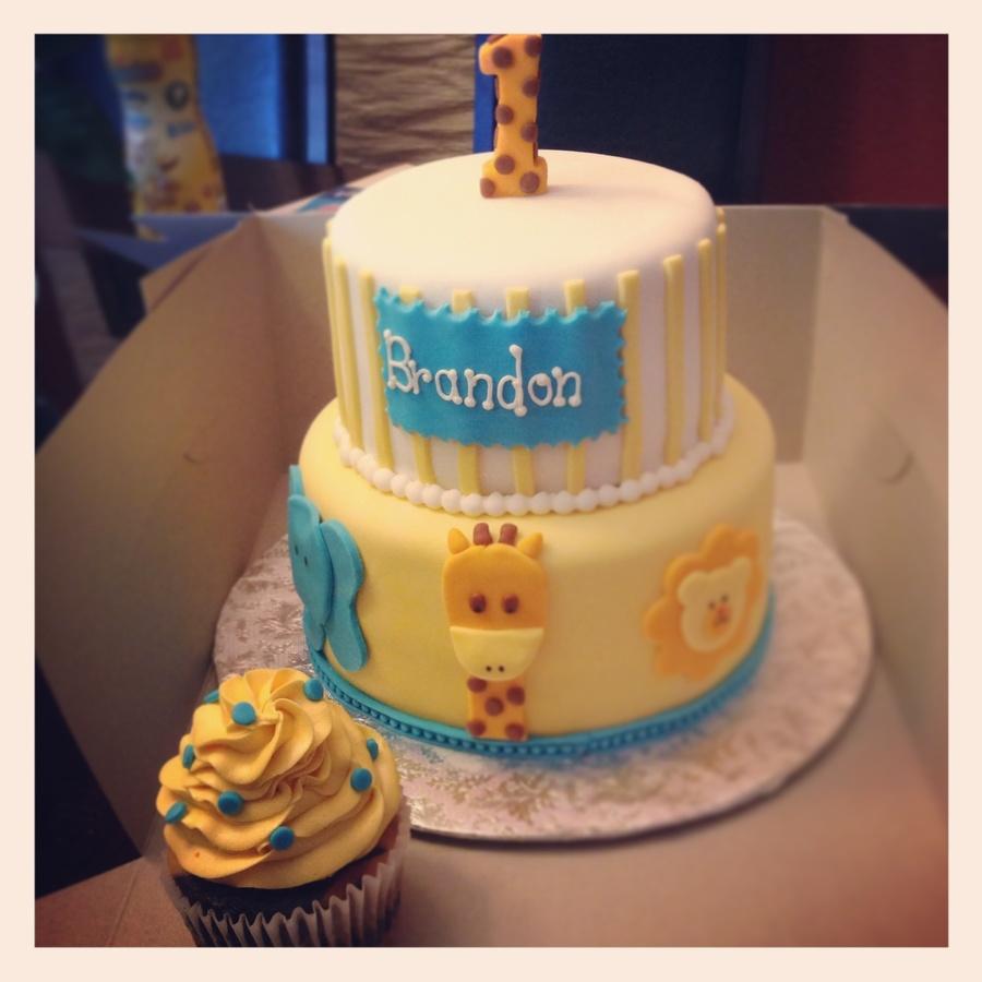Safari 1st Bday Cake Cakecentral