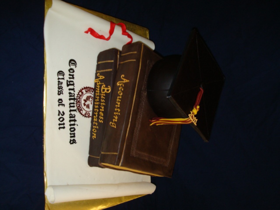 Masters Degree Graduation on Cake Central