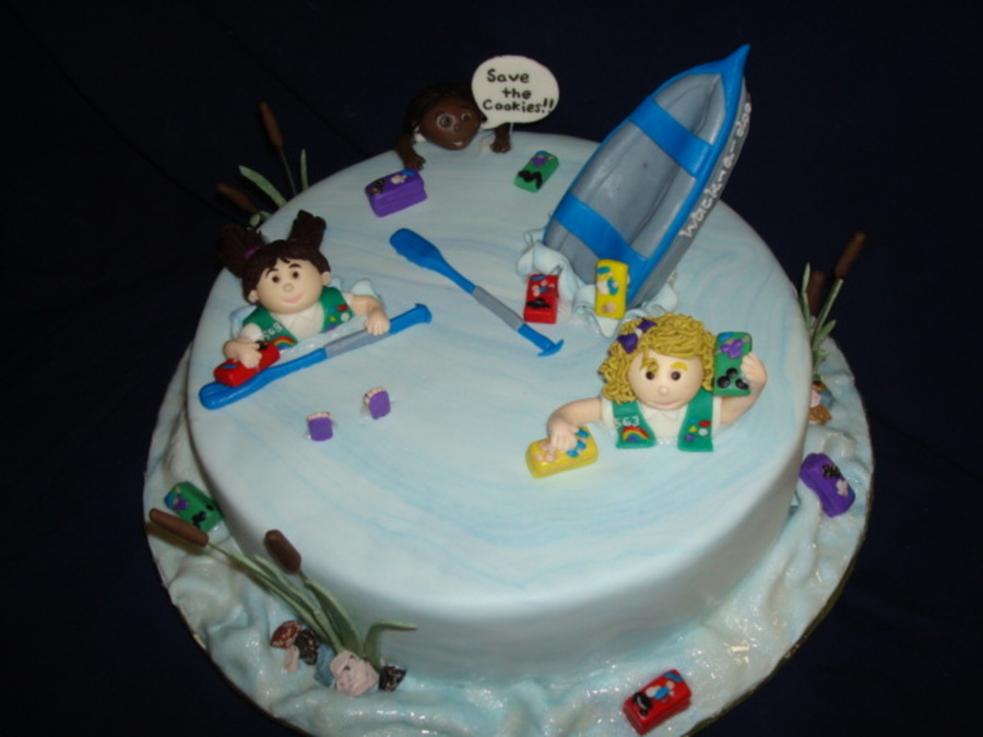 Girl Scout Troop Leader S Birthday Cakecentral Com