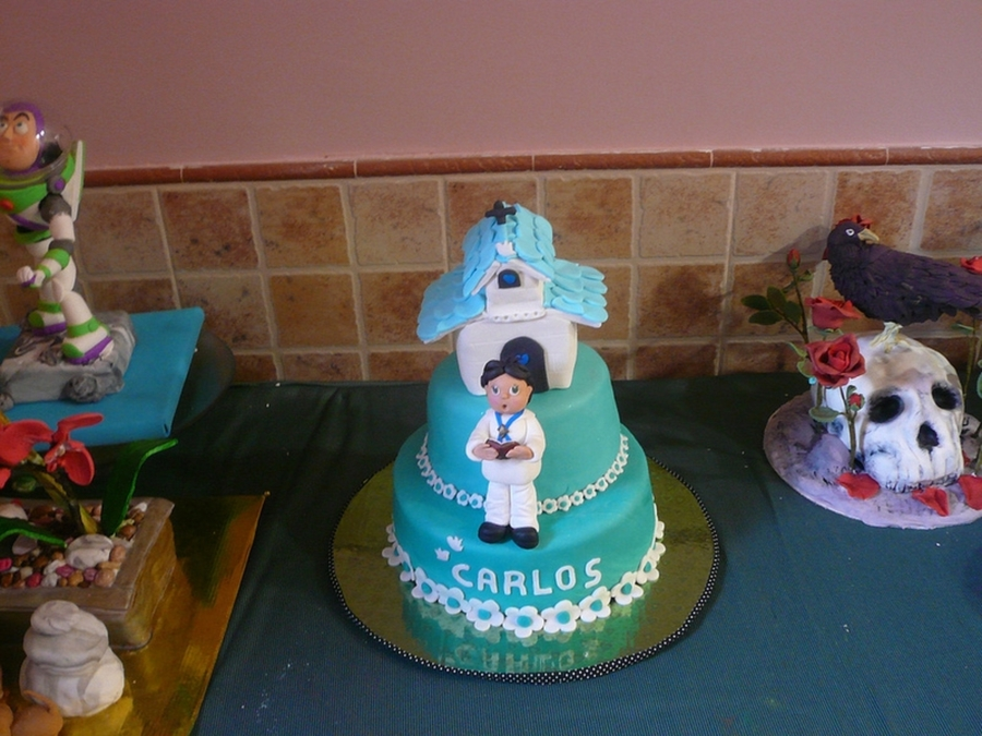 Blue Boy Communion on Cake Central