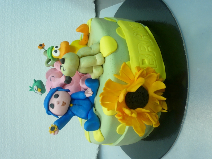 Pocoyo And Friends on Cake Central