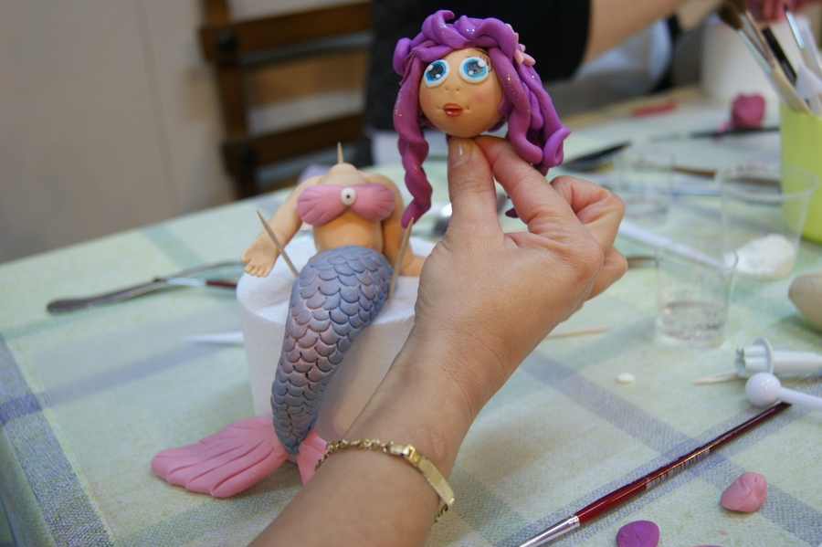 Mermaid Master Class on Cake Central