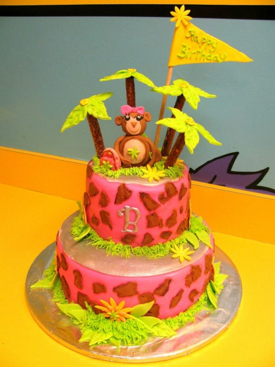 Brinkley's Monkey Jo Cake  on Cake Central