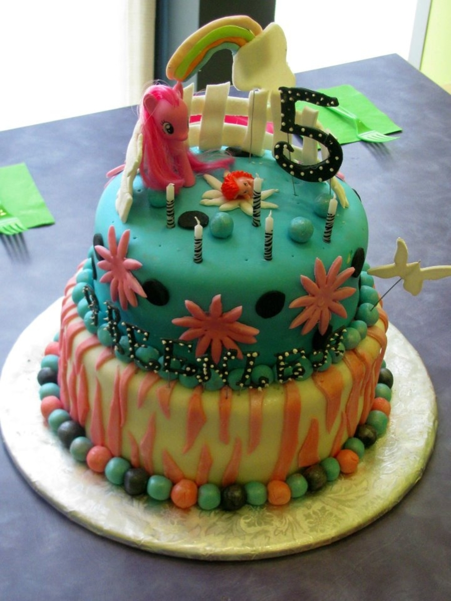 Greenlea's Little Pony Cake  on Cake Central