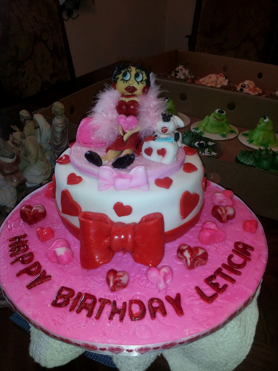 Betty Boop Cake on Cake Central