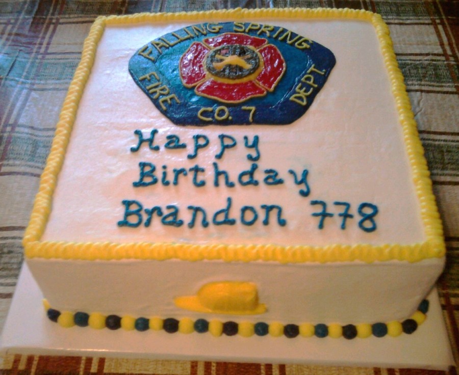 Fire Department Cake on Cake Central