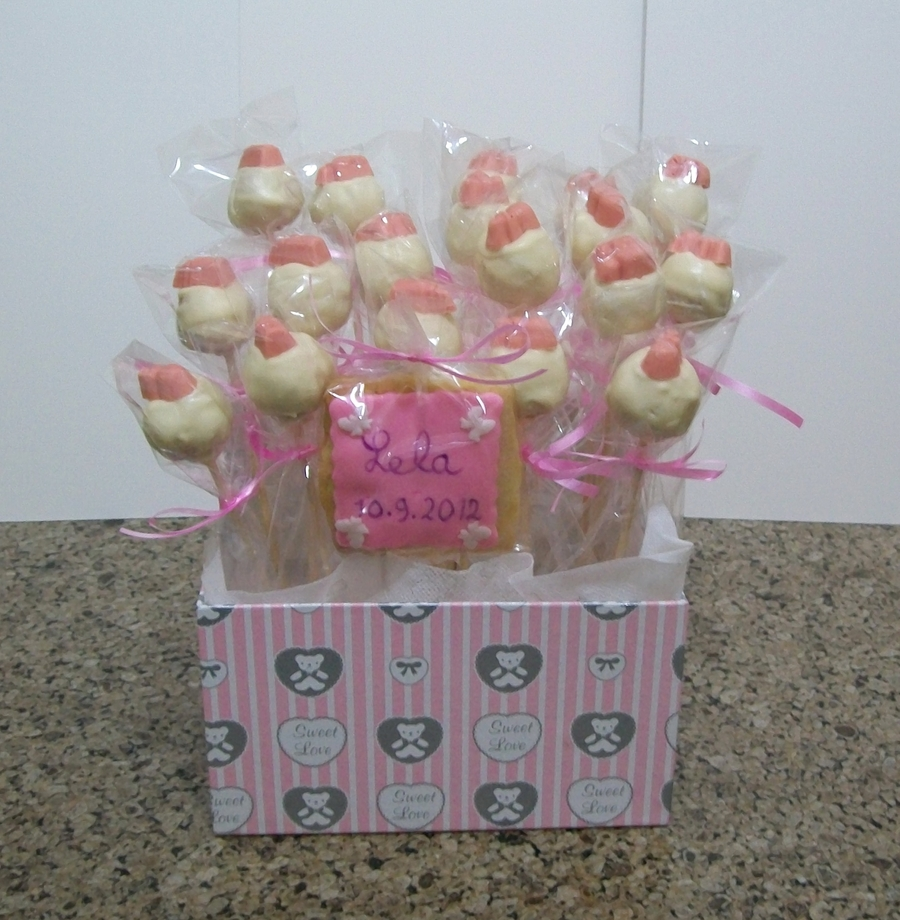 Cake Pops Bouquet on Cake Central