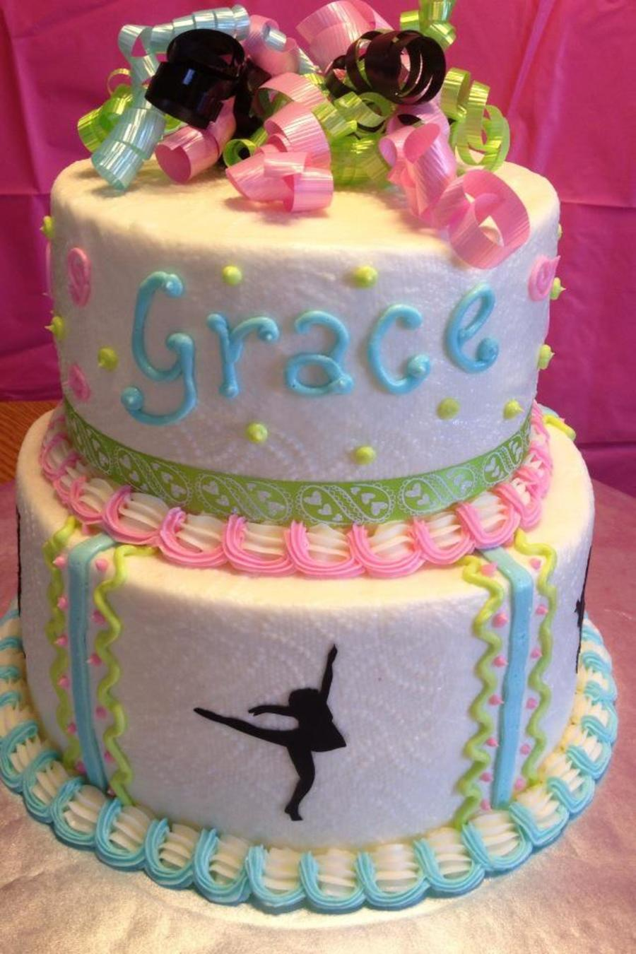 Dancer Birthday Cake on Cake Central