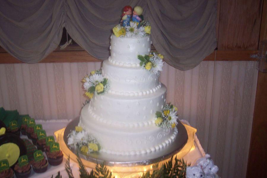 John Deere Wedding - CakeCentral.com