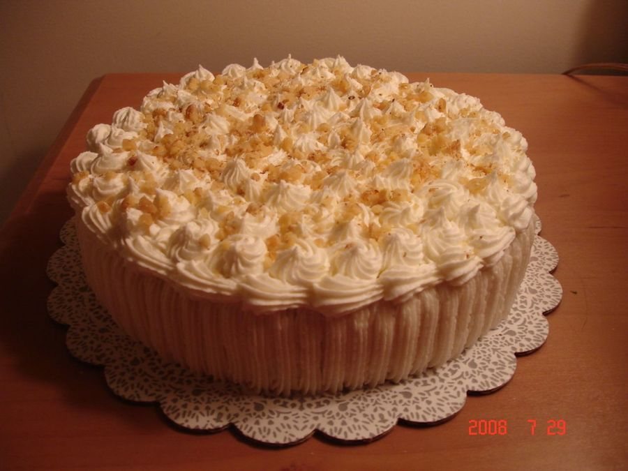 Carrot Cake With Decorators Cream Cheese Frosting on Cake Central