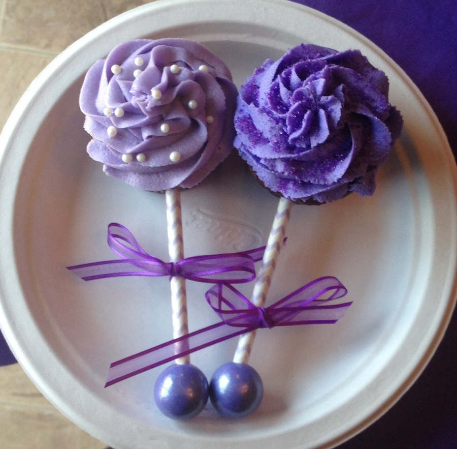 Baby Rattle Cupcakes - CakeCentral.com