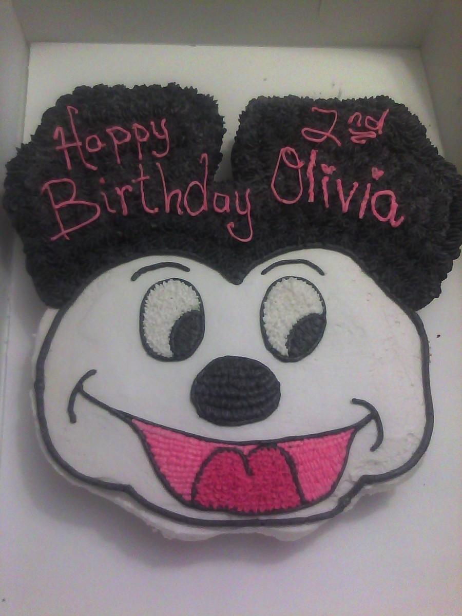 Strange Mickey Mouse Cupcake Cake Cakecentral Com Birthday Cards Printable Riciscafe Filternl
