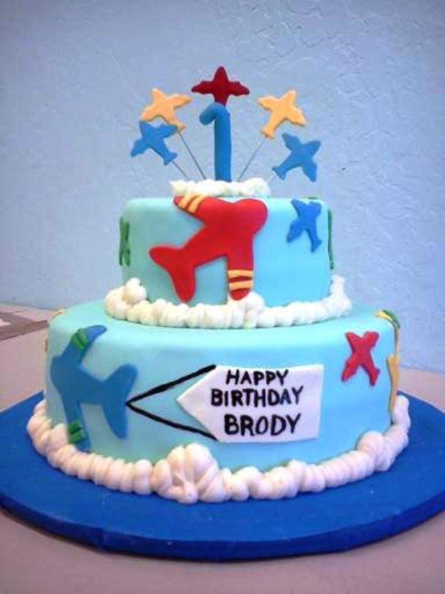 Awe Inspiring Airplane Birthday Cake Mmf And Buttercream Decorations Funny Birthday Cards Online Alyptdamsfinfo