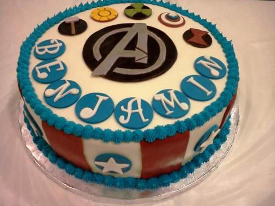 Avengers Cake Mmf Decorations Yellow Red And Green All Natural Food Colors on Cake Central