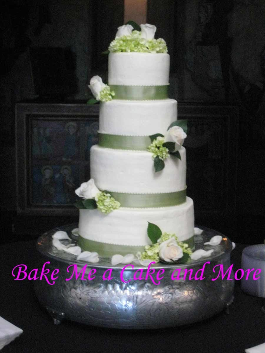 Wedding Cake With Buttercream Icing on Cake Central