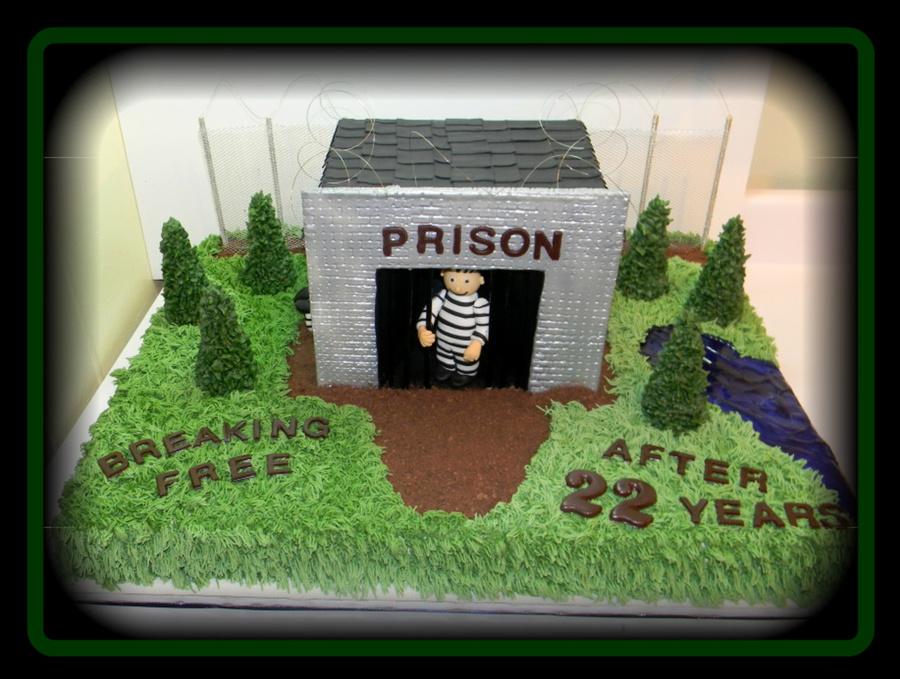Prison Guard Retirement Cake - CakeCentral.com