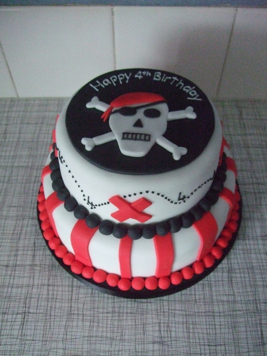 Pirate  on Cake Central