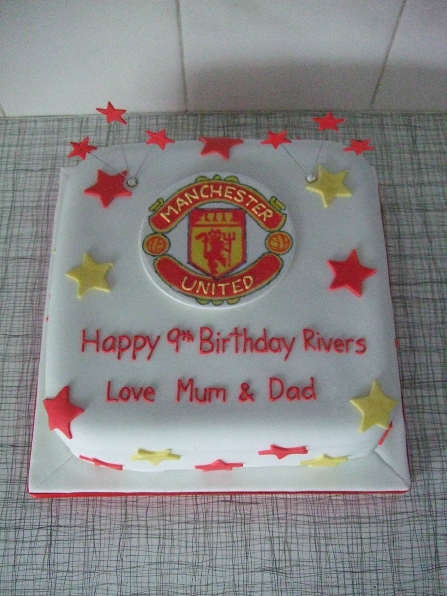 Manchester United, Football on Cake Central