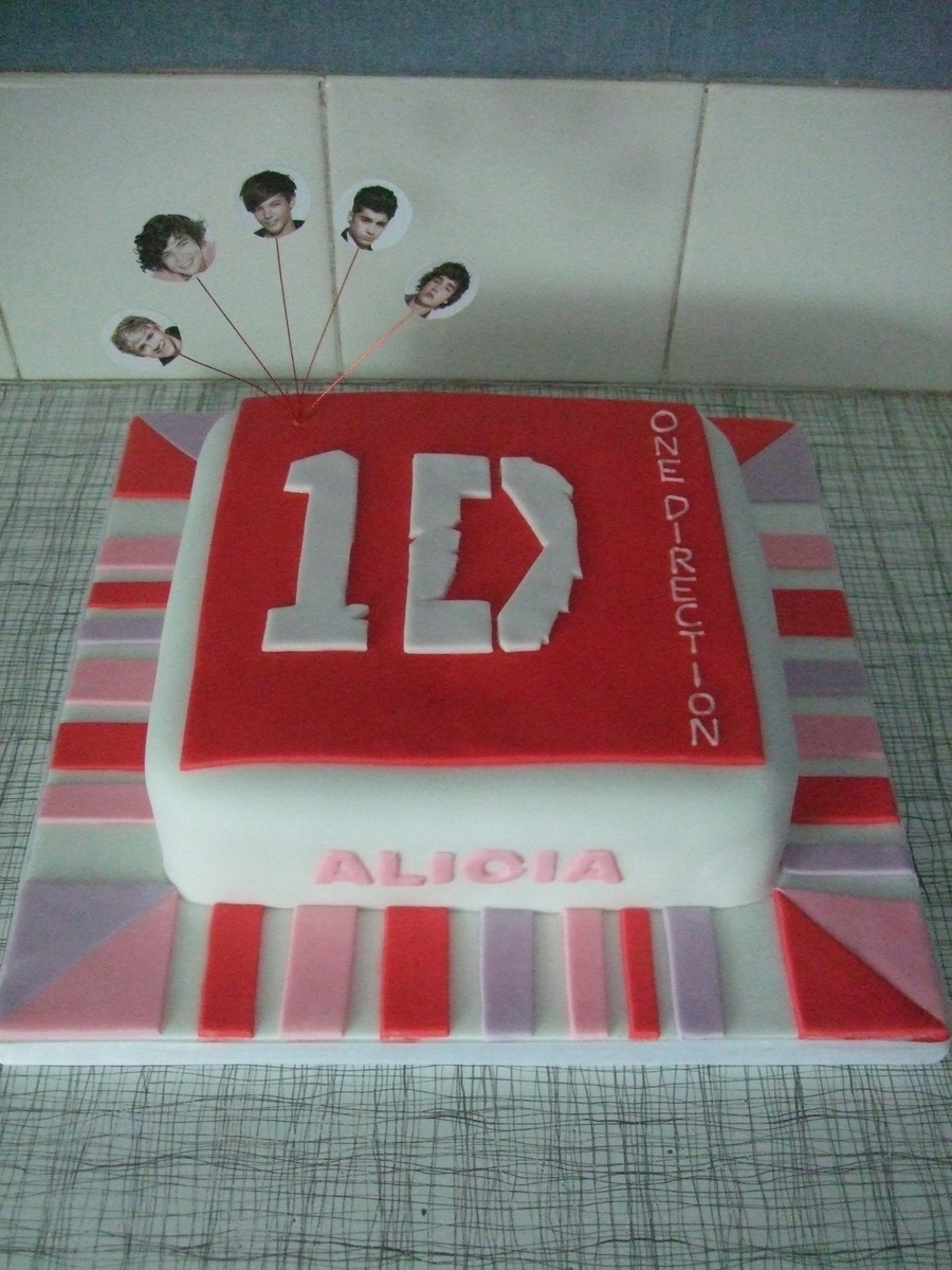 One Direction on Cake Central