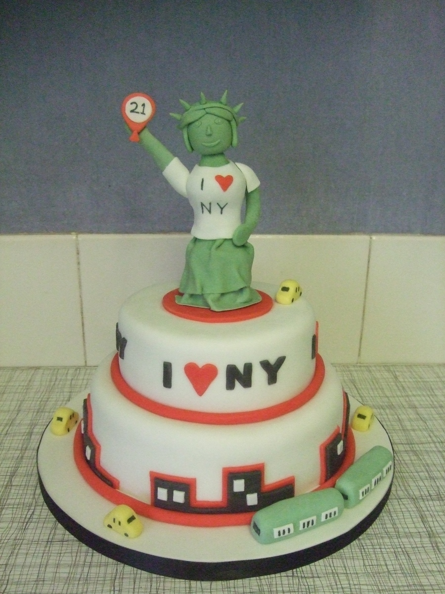 New York on Cake Central