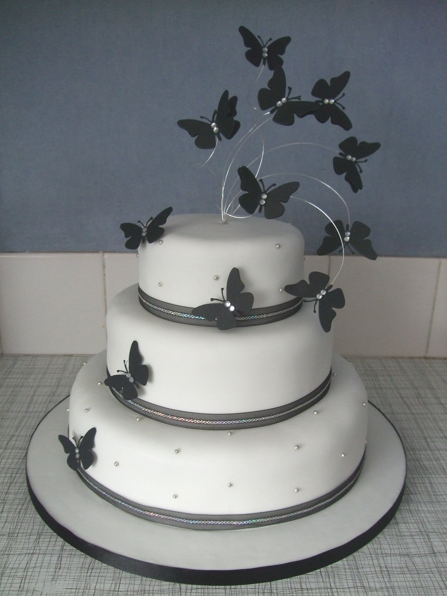 Butterfly Wedding on Cake Central