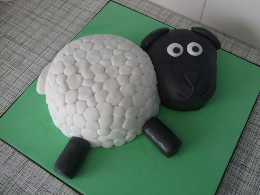 Sheep on Cake Central