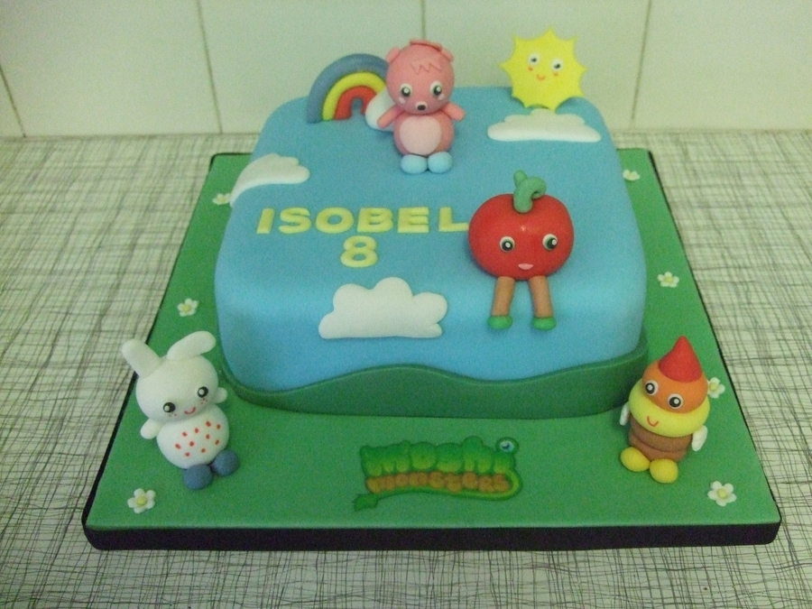 Moshie Monsters on Cake Central