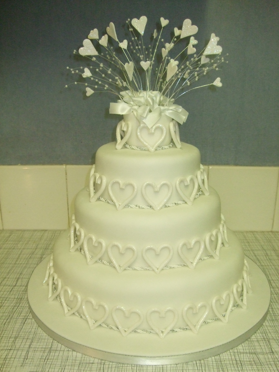 Heart Wedding on Cake Central