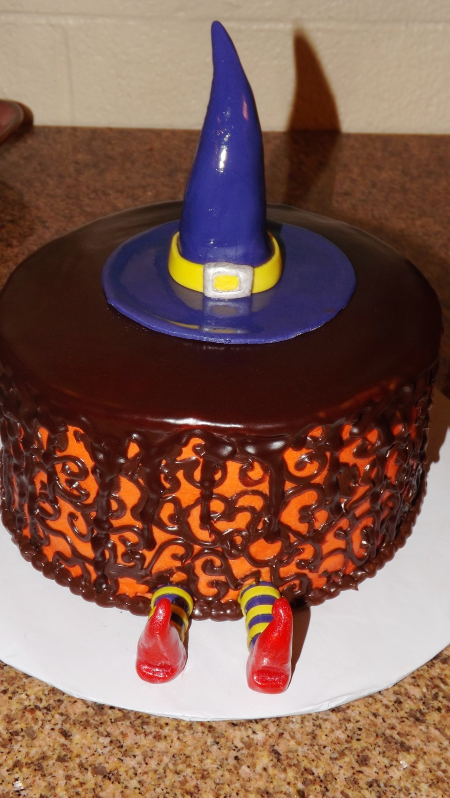 Cake That Fell On Top Of Witch on Cake Central