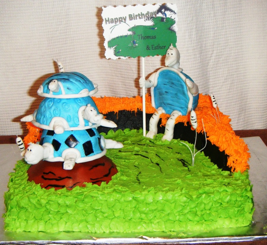 Yertle The Turtle on Cake Central
