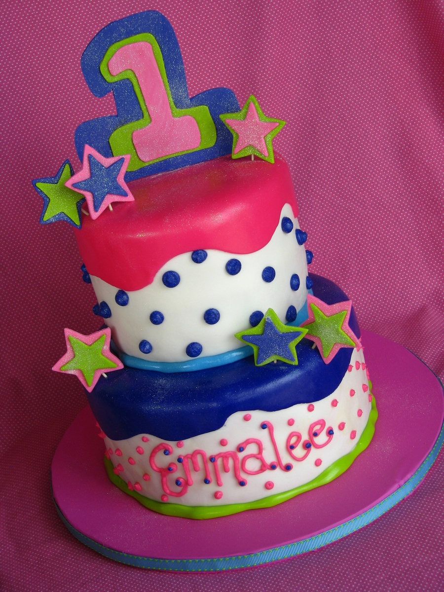 Fun Birthday Cake! on Cake Central