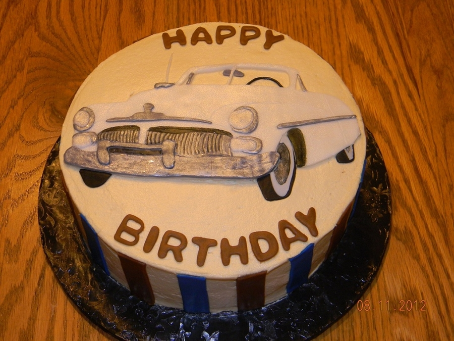 1950 Mercury on Cake Central