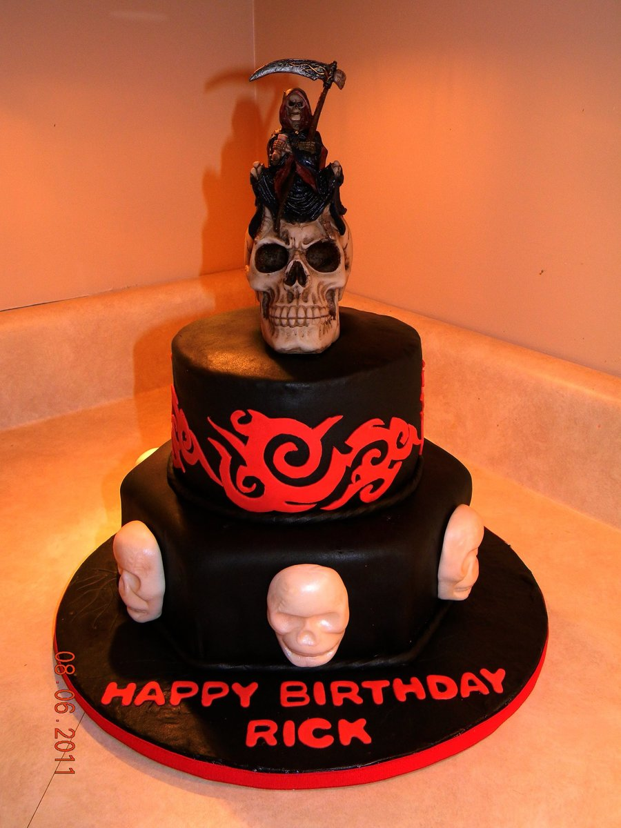 Waiting Grim Reaper on Cake Central