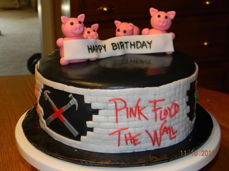 Pink Floyd Birthday Cake