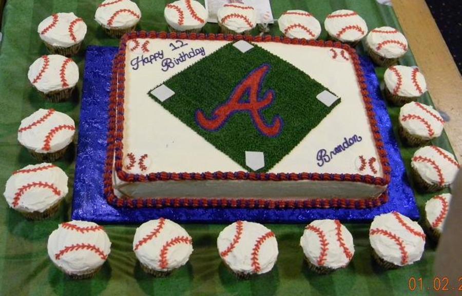 Atlanta Braves On Cake Central