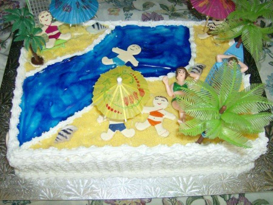 Beach Party Ii on Cake Central