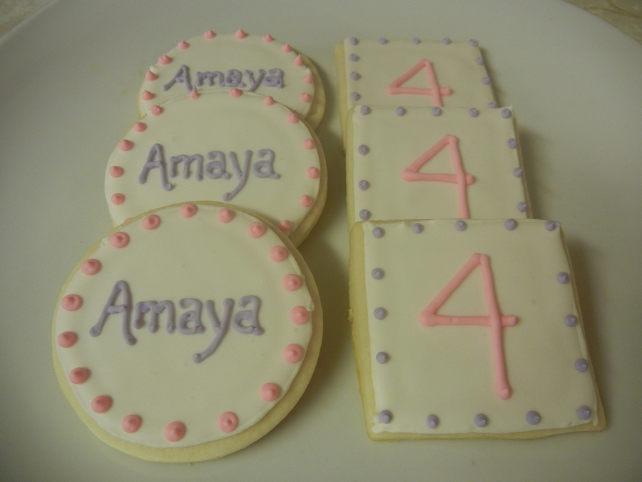 4Th Birthday Cookies on Cake Central