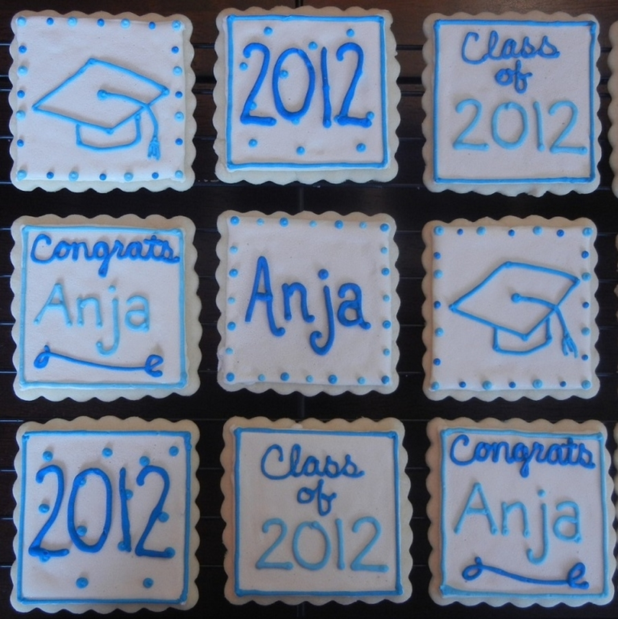 Graduation Cookies on Cake Central