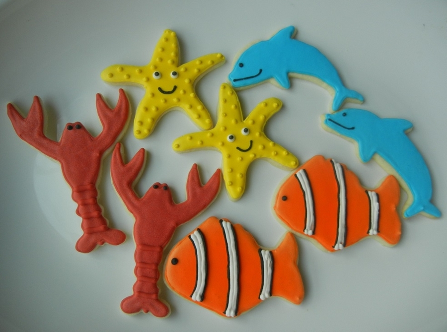 Under The Sea Cookies on Cake Central